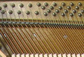 Пианино, струны
